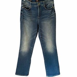 NYDJ Marilyn Straight High Rise Jeans